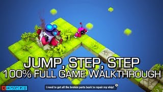 Jump, Step, Step - 100% Full Game Walkthrough - All Achievements - 1000G in 30 Minutes