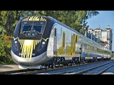 Train Ride Thru South Florida Brightline Maiden Voyage
