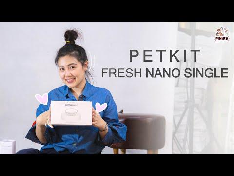 (Review) ชามอาหารสัตว์เลี้ยง PETKIT FRESH BOWL NANO ABS SINGLE