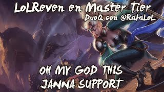 Master Tier 120LP - OH MY GOD THIS JANNA SUPPORT