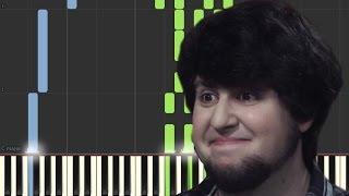 JonTron Theme Song [Piano Tutorial] (Synthesia)