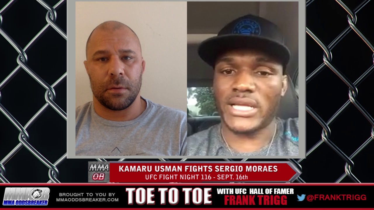 Frank Trigg pre-fight interview with UFC Fight Night 116's Kamaru Usman