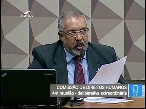 Votações - TV Senado ao vivo - CDH - 16/05/2018