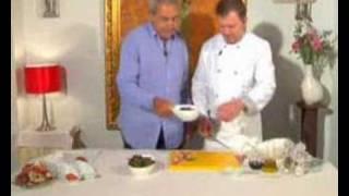 Ensalada De Bogavante Con Pasta Fresca, Salmón Marinado Y Ma