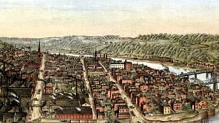 McKeesport Pennsylvania 1893 Panoramic Bird