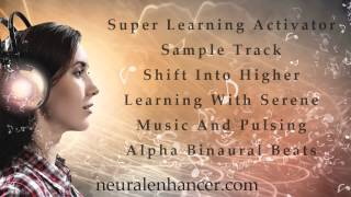 Super Learning Activator Binaural Beats