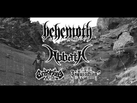 Behemoth - Europa Blasfemia Tour 2016