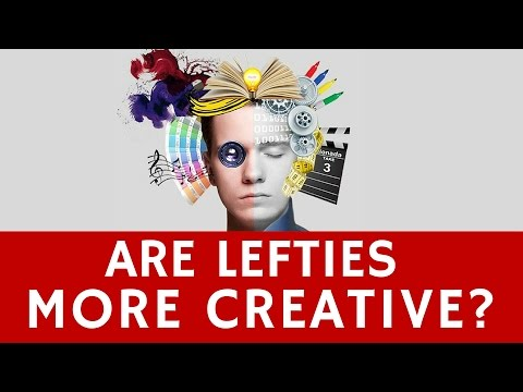 Download Youtube: Are Left-Handed People More Creative in their Jobs?
