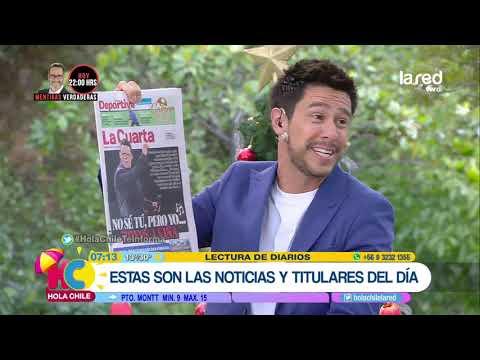 Hola Chile Programa Completo Lunes 17 de Diciembre 2018