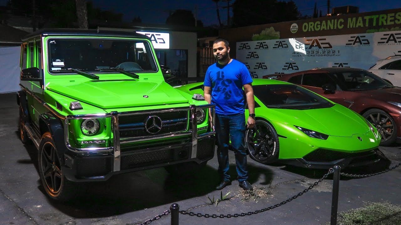 Taking Delivery Of My Friend's Alien Green G63 AMG!!!