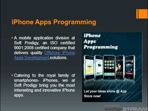 Offshore iPhone Apps Development Company | iPhone Application Developers - SoftProdigy