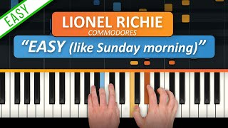 "How To Play ""Easy (Like Sunday Morning)"" by Commodores 