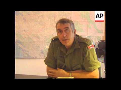 CROATIA: KNIN: US SENATORS VISIT AREA