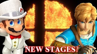 Inside Super Smash Bros Switch - New Stages