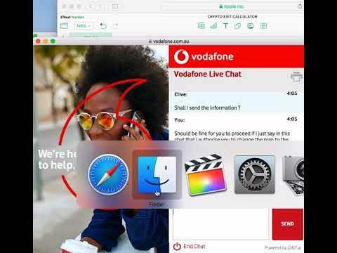 Vodafone Upgrade Chat