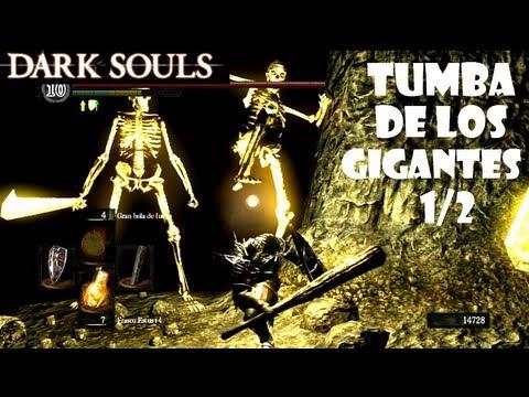 Dark Souls guia: TUMBA DE LOS GIGANTES - Gameplay, secretos y trucos || EP 45.1