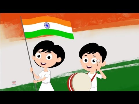 Independence Day For Kids | 15th August for Childrens | Kid Friendly Videos | Kids Tv Channel India