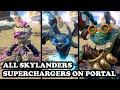 Skylanders Superchargers - All Skylanders Superchargers & All Vehicles on Portal GAMEPLAY