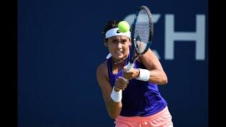 Aliona Bolsova vs. Barbora Strycova | US Open 2019 R1 Highlights