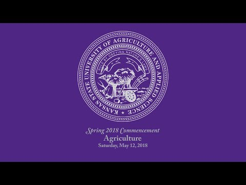 Agriculture   Spring Commencement 2018