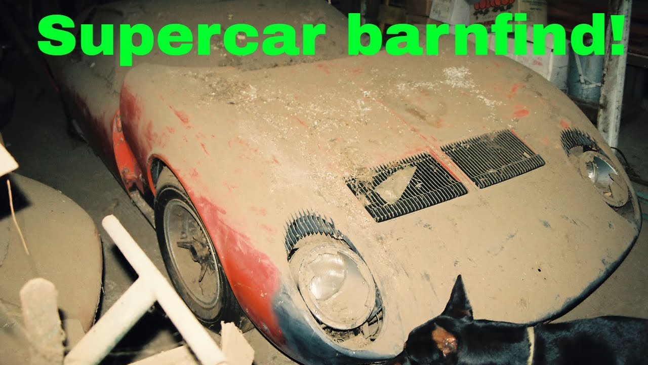 Supercar Barn Finds - Ferrari stolen by Charles Manson and more!