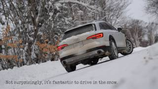 2017 Audi A4 Allroad: Traction Demonstration