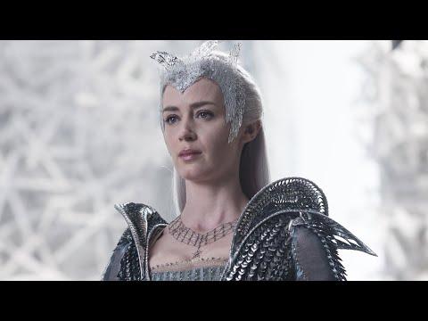 Freya (Ice Queen) - All Scenes Powers | The Huntsman: Winter's War