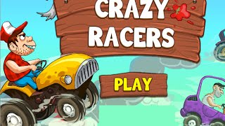Crazy Racers Full Gameplay Walkthrough