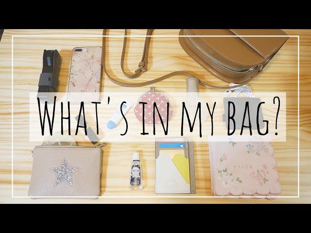 【what's in my bag】小さいかばんの中身紹介とアンテナショップでの購入品紹介!