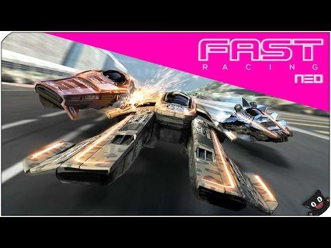 Velocidad punta! - Fast Racing NEO (WiiU 60fps)