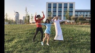 Девушки И Парни Танцуют Лезгинка Шафл На Кавказе 2018 Shufle Lezginka ALISHKA Друзья (Новые Танцы)