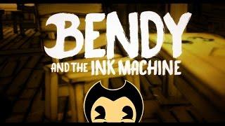 Прохождение Bendy and the Ink Machine: Chapter 1   Я ВИЖУ СТРЕМНОГО ГУФФИ