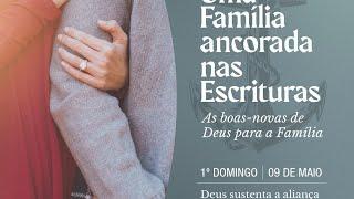 IPN AO VIVO CULTO VESPERTINO 17h   Deus sustenta a Aliança Conjugal  Mateus 19:1-12  Rev. Ítalo Reis
