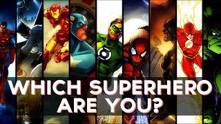 Which Superhero Are You? | Fun Tests
