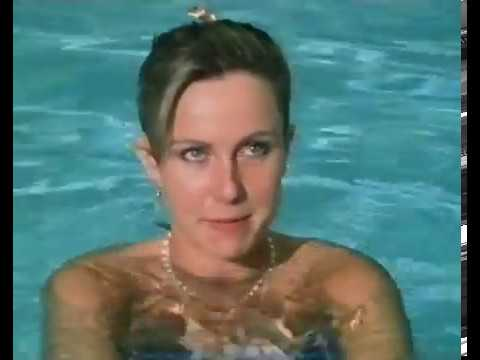 Sarah Greene in the Swimming Pool