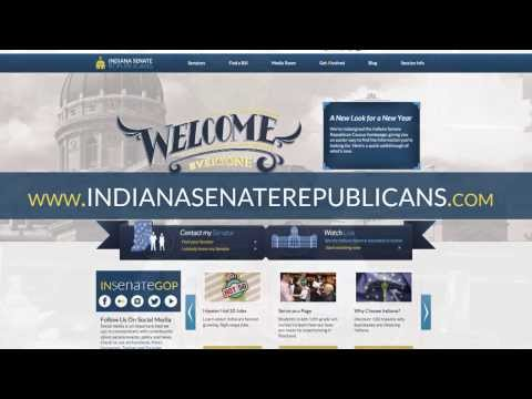 Indiana Senate Republicans Website