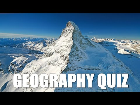 Geography Quiz Questions