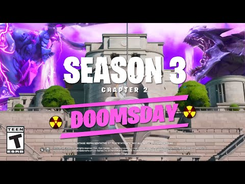 Season 3 - Doomsday Event Trailer (Fortnite Chapter 2: Season 3 Trailer)