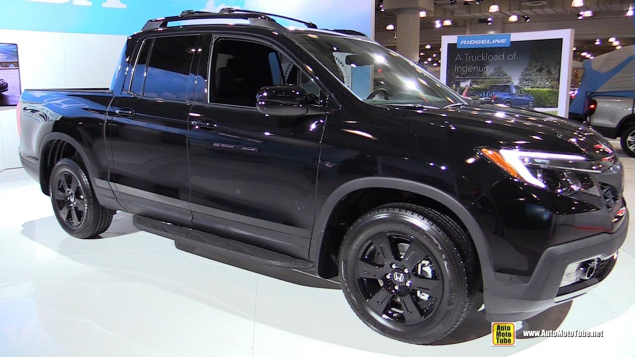 2017 Honda Ridgeline Black Edition Exterior And Interior Walkaround Ny Auto Show