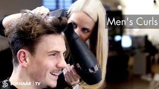 Men's Curly Top - Hairdresser / Barber skills
