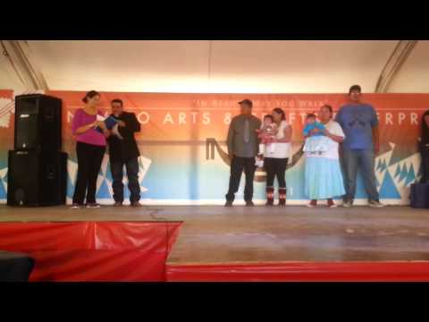 Navajo Nation Fair Baby Contest 2013