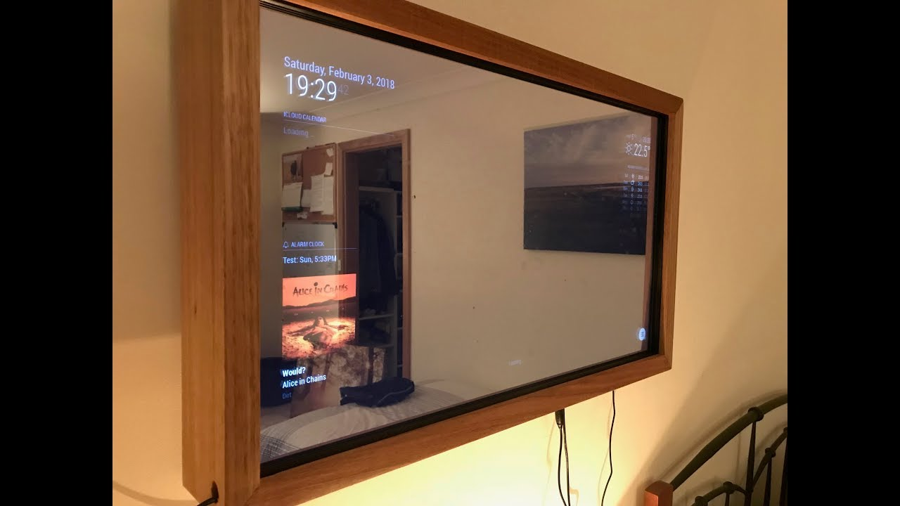 Constructing A Smart Mirror Youtube