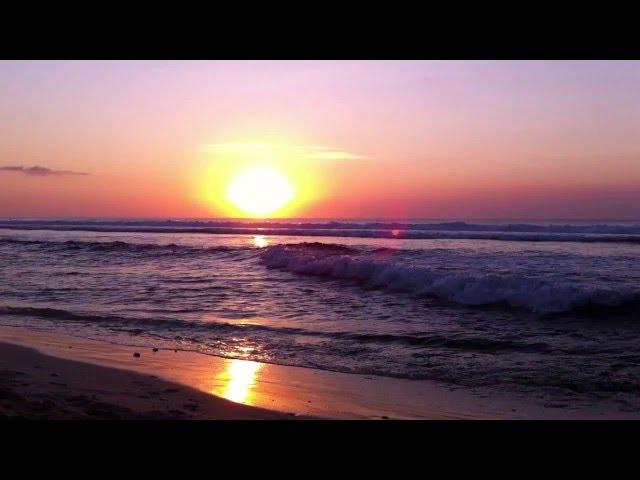 Senja di Dreamland Beach Bali