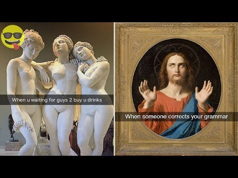 Funniest Museum Snapchats Ever