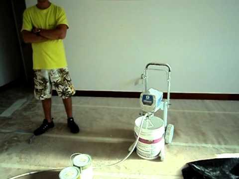 maquina de pintura para as casas de sao luis youtube. Black Bedroom Furniture Sets. Home Design Ideas