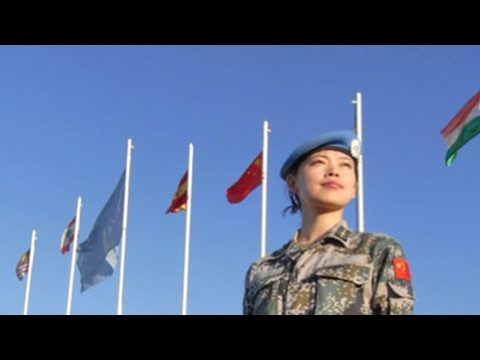 China's newly-established Standby Peacekeeping Forces