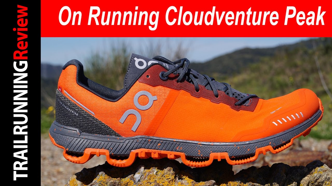 authentic quality fast delivery official site On Running Cloudventure Peak 2017 Review - YouTube