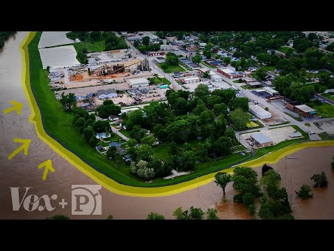 Model shows how levees can increase flooding: report