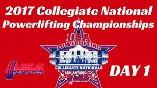 Day 1 - 2017 USA Powerlifting Collegiate Nationals thumbnail