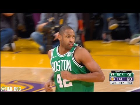 Al Horford Highlights vs Los Angeles Lakers (13 pts, 12 reb, 6 ast, 2 blk)